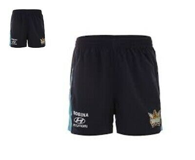 Gold Coast Titans NRL BLK Players Training Shorts Size Small ONLY! 6