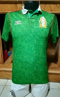 65df92840 Mexico jersey official Umbro 1994 size S Vintage Collection classic retro  jersey