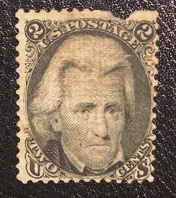 US Stamps Collection Scott#85B 2c Jackson Unused NG Rare Z Grill CV$17500+
