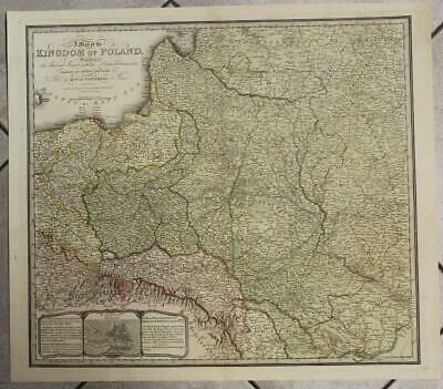 Poland After Congress Of Vienna Lithuania 1829 Wyld Large Unusual Antique Map