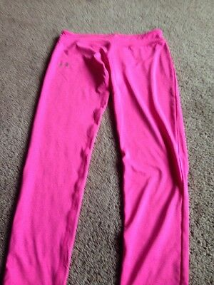 Under Armour Girl's Heatgear Fitted Leggings. Size XLarge. New W Tags.