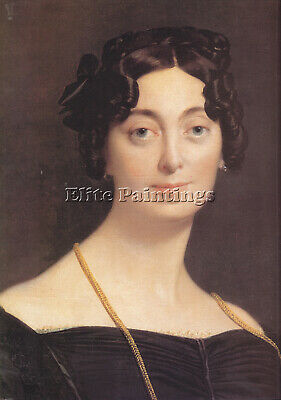 Jean Auguste Dominique Ingres Madame Leblanc Artist Painting Handmade Oil Canvas