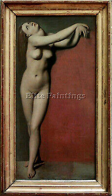 Jean Auguste Dominique Ingres Angelique Artist Painting Reproduction Handmade