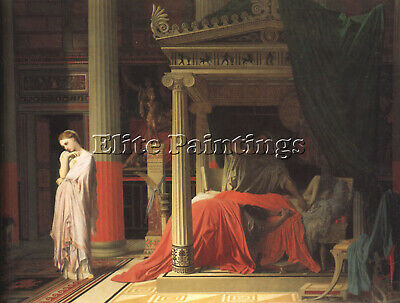 Jean-Auguste Dominique Ingres Antiochus And Stratonice Artist Painting Handmade