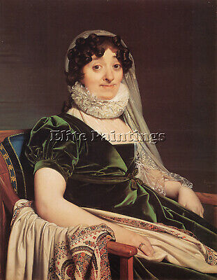 Jean Auguste Dominique Ingres Comtess De Tournon Artist Painting Handmade Canvas