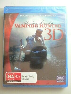 Abraham Lincoln Vampire Hunter 3D only blu-ray