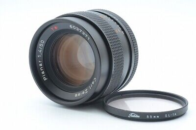 Near Mint Carl Zeiss Planar 50mm f/1.4 T* for Contax CY Fastest shipping #381