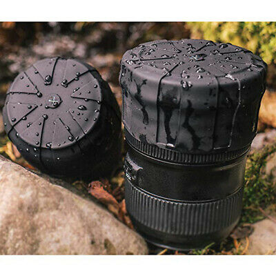 1x Silicone Lens Cap Protective Scratch-proof Lens Cap  Waterproof Lens Cover