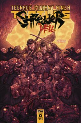 TMNT: Shredder in Hell #2 (2019) / US-Comic Bagged & Boarded 1st Print