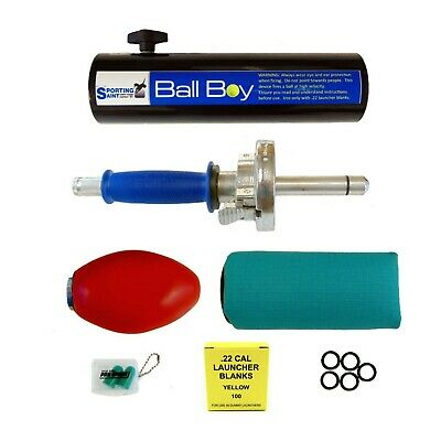 Dummy Launcher Training Pack c/w Ball Boy Tennis Ball Adaptor