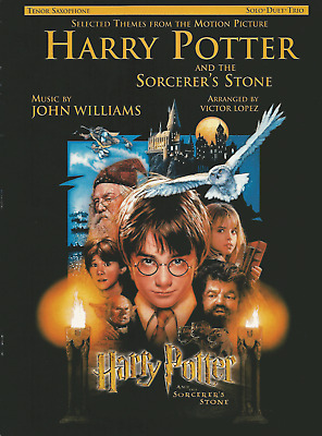 HARRY POTTER & THE SORCERERS STONE TENOR SAXOPHONE Sheet Music Book Shop Soiled
