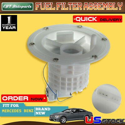 fuel filter with pressure regulator for mercedes benz w216 c216 w221 s430  s500