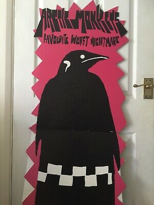 Arctic Monkeys Favourite Worst Nightmare  Rare Record Shop Display Standee