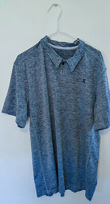 Mens Hurley Fast Dry Polo Shirt - Size Large