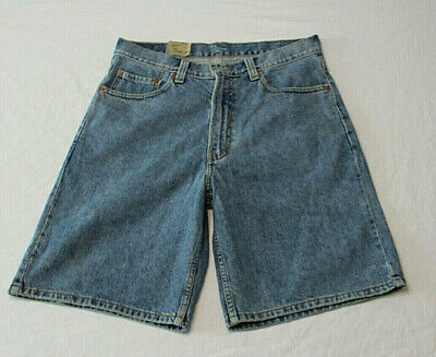 75fc159995c Levis 505 Jean Shorts Mens Size 34 Blue Denim 100% Cotton Flat Front  Regular New