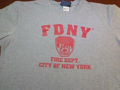 FDNY  Medium Officially Licensed T Shirt  New York City FIre Department   U9