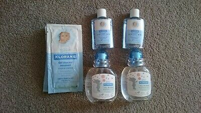 Klorane Fragrant Water for Baby 2x50ml + Samples