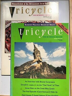 2 Copies Of TRICYCLE The Buddhist Review Spring/winter 1995