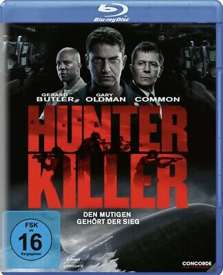 Hunter Killer [Blu-ray] Neuwertig - Spannende U-Boot Action