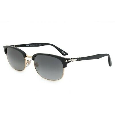 96c1f6c2e0d7 PERSOL RECTANGLE SUNGLASSES PO8139S 95/71 55 Gray Gradient Lenses ...