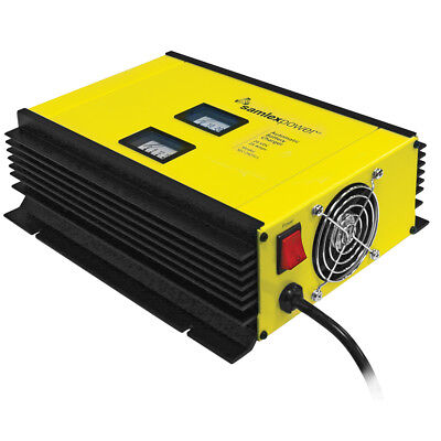 Samlex 25A Battery Charger - 24V - 2-Bank - 3-Stage w/Dip Switch & Lugs - Inc...