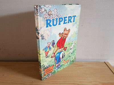 RUPERT ANNUAL 1958 original book - good  - panting page untouched