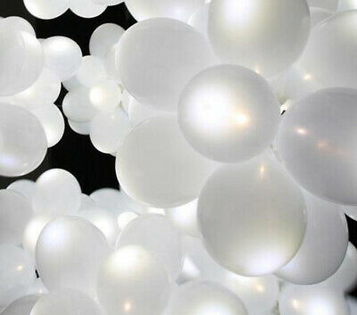 WHOLESALE JOB LOT LIGHT UP BALLOONS - WHITE - LED BALLOONS - Re-sell - Boot sale