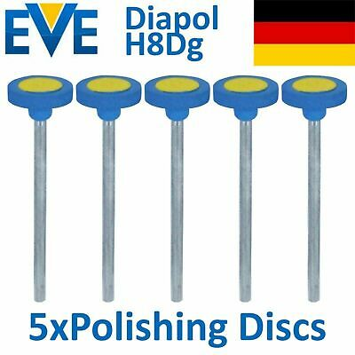5 Dental EVE Diamond Polishing Discs Disk Porcelain Ceramic Coarse Polish Diapol
