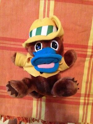World Expo 88 official mascot OZ platypus 21cm plush toy