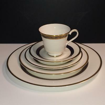 10Pc Royal Doulton Harlow Lot: 2X Complete 5 Piece Place Settings Ch4950