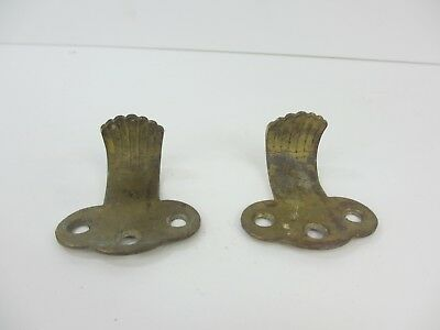 Antique Brass Sash Window Lifts Lift Old Victorian Door Handles Pulls Pair