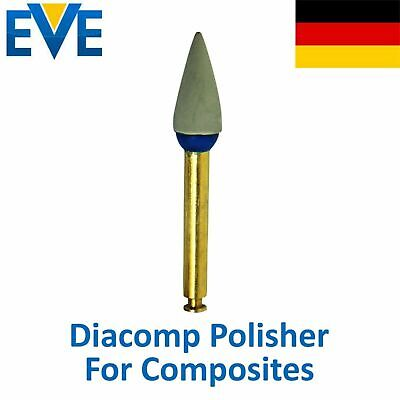 Dental EVE Diamond Polishing Diacomp Ultra Composite Polisher Grey Gray Point