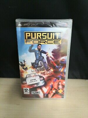 New & Factory Sealed Sony PSP Pursuit Force UK Pal PlayStation Portable RARE #5A