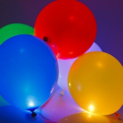 WHOLESALE JOB LOT LIGHT UP BALLOONS - MIXED - LED BALLOONS - Re-sell - Boot sale
