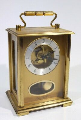 Wonderful Vintage Brass Chiming Carriage Clock by London Clock Company.
