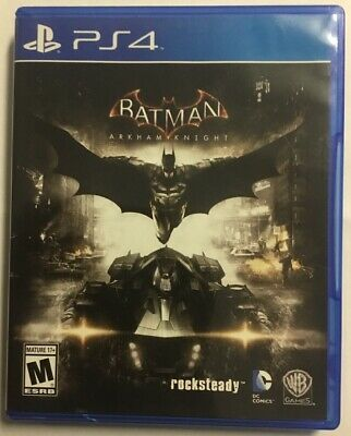 PS4 Batman: Arkham Knight (Sony PlayStation 4, 2015) Free Shipping!!