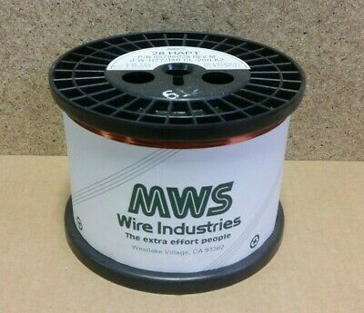 *NOS*   7.93 lbs  MWS  HAPT  30 AWG   Magnet Winding Wire 95786030  S28Y