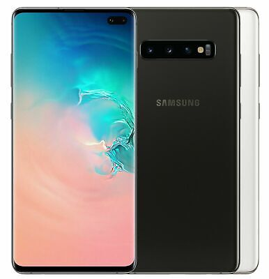 "Samsung Galaxy S10+ Plus 512GB SM-G975F/DS Dual (FACTORY UNLOCKED) 6.4"" Ceramic"