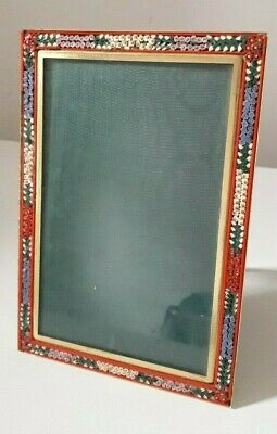 Italian Vintage Micro Mosaic picture frame
