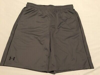 """Clothing, Shoes & Accessories A Great Variety Of Goods Mens Under Armour Athletic Heatgear Shorts Euc Pockets Sz Xl 10"""" Inseam Activewear Tops"""