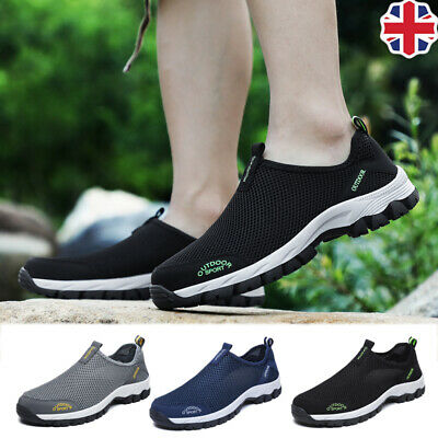 Mens Mesh Hiking Water Wet Shoes Beach Outdoor Non-slip Quick Drying Plus Size14