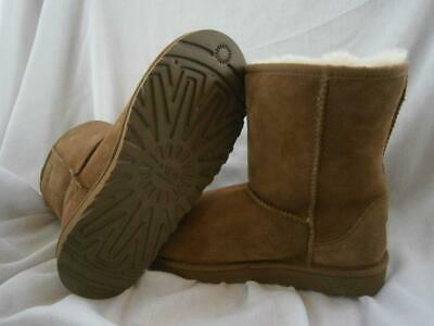 UGG Short CLASSIC BOOTS Chestnut YOUTH sz 5 NEW fits women sz 7 apprx 5251Y