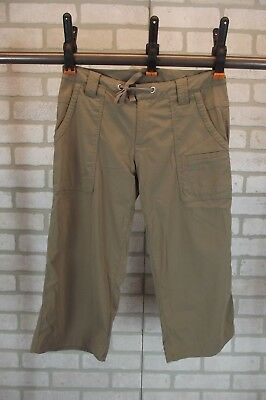 Womens Lucy Flex Cargo Crop Pants Roll Up Tabs Khaki Size Small Clothing, Shoes & Accessories Women's Clothing