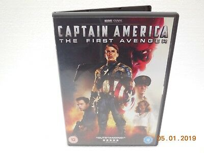 *Captain America, The First Avenger ~ 2013 DVD ~ Region 2 ~ Rated 15