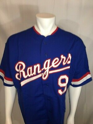 100% authentic a0944 37d79 NWT DS AUTHENTIC Mitchell & Ness Cooperstown Collection Texas Rangers  Jersey 3XL