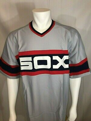 b27596a8699 DS AUTHENTIC Mitchell   Ness Cooperstown Collection Chicago White Sox Jersey  3XL