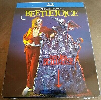 Tim Burton's BEETLEJUICE (1988) Blu-Ray USA Exclusive Limited Edition STEELBOOK