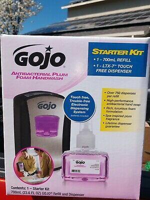 GOJO Starter Kit 1312-D1 with LTX TOUCH FREE DISPENSER