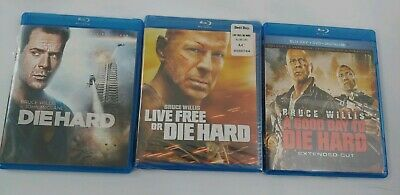 Die Hard Bundle- Die Hard, A good day to Die Hard, Live free or Die Hard Blu-ray