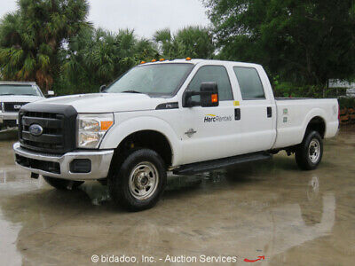 2013 Ford F-350 XL Super Duty  2013 Ford F-350 Crew Cab Pickup Truck V8 6.7L Diesel Long Bed 4x4 Cold AC Repair